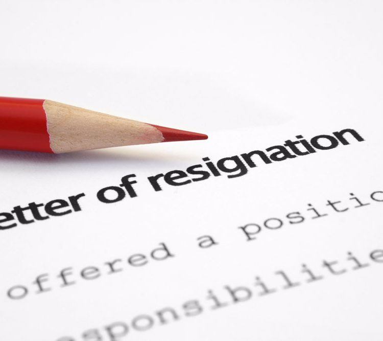 Resigning Gracefully